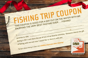 image of fishing trip flyer